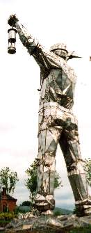 colossus of Brownhills legendary giant statue