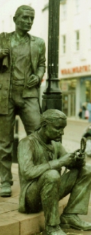 sailors whitehaven bronze sculpture figures