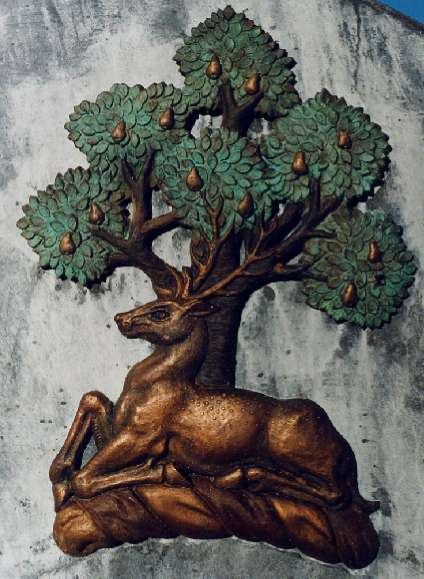 stag malvern bronze cast pear tree chase hills district council bernerds green